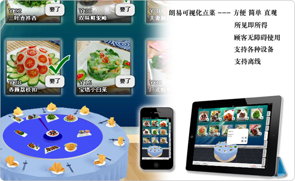 v年味年味菜谱,无线点菜,电子点菜菜谱儿童画平板关于的图片